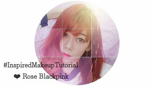 """Quick inspired #makeuptutorial - Rose blackpink """"Forever Young comeback stage makeup at Show music core""""  @roses_are_rosie @blackpinkofficial ❤ . . . . Deets: 💜 Moonshot moonflash cushion 💜 Ponds BB magic powder 💜 Cathydoll flash me baked lighting powder 💜 Maybelline V-face duo powder 💜 Nyx mosaic powder 👀 Cathydoll Nude me pink champagne eyeshadow 👀 Maybelline x GigiHadid jetsetter pallete 👀 Maybelline Hyper sharp wing 👀 Dejavu fiberwig mascara 💋 Pixy matte in love - Vibe pink  #blackpink #blackpinkmakeup #inspiredmakeup #roseblackpink #parkchaeyoung #CLOZETTEID #beautyblogger #kpop"""