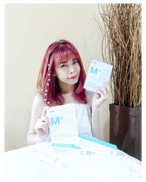 "Welcoming 2 new products from charis  the M+ Madecassoside cica cream & mask which is good for clarifying , lifting, relaxing and moisturizing your sensitive skin with this multi high tech solution. . . . ❤ this M+ Madecassoside cica cream & mask recommended for anyone who has sensitive skin like mine.  I use this cream & mask for almost a week (2-3 times a week)  at night and i love how my skin feels so soft & supple in the morning. And whats more amazing, they had a ""glass skin"" effect after u apply it on your face lol 🤗 ❤ for the texture itself,  i think the texture itself feels a bit thick but still easy to blend and the smell is so relaxing tho (iloveit!) ❤ if you ask me what i choose or recommend from this 2 product, i think i choose the M+ Madecassoside cica cream because i didn't  really like to sit still while using some mask lol (i don't like the sticky feeling) . . . For more info about this products, head out to my charis shop and get a special discount only for you ✌  https://hicharis.net/jennifermarcellina/eW5  #CHARIS #CHARISCREAM #CREAM #CHARISMPLUSCREAM #CHARISMADECASSOSIDECICACREAM #CICACREAM #CHARISSTORE #charisAPP @hicharis_official @charis_celeb  #clozetteid #jennysbeautyreview #beautyblogger #beauty"