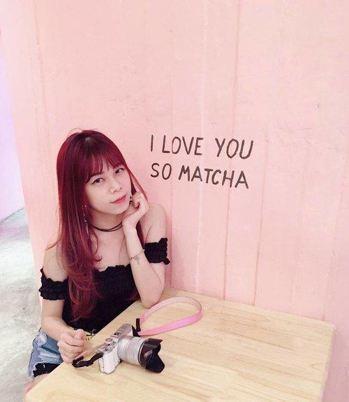 Ps. I love you so matcha! ❤ . . . . . . . . #ootd #motd #potd #qotd #clozette #clozetteid #starclozetter #beautynesiamember #beautyblogger #ibb #styleblogger #wiw #whatwelikeco #asian
