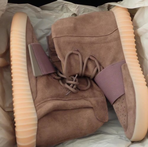 Ready Yeezy Boost 750 in Lightbrown only!  Contact line jennifermarcellina ❤️❤️ #yeezyboost750 #adidas #adidasyeezy #clozette #clozetteid