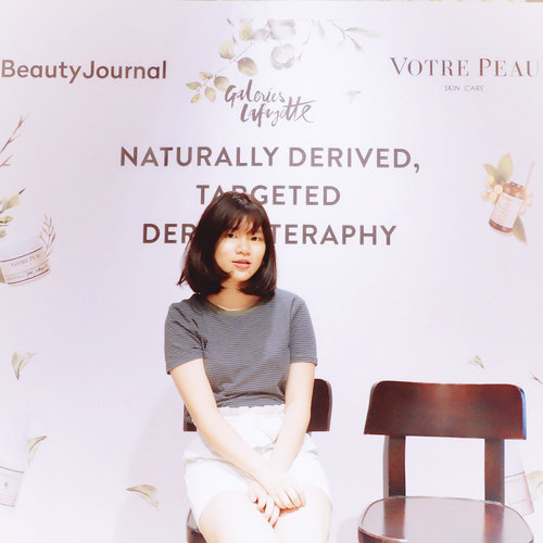 Today attending Grand Launching @votre_peau x @beautyjournal♥️ . .  #clozetteid #BeautyJournalXVotrePeau #beautyjournal #votrepeauatlafayette #votrepeauskincare