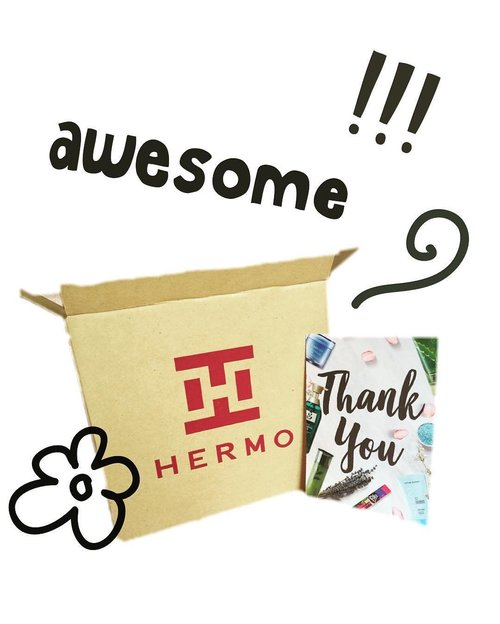 Yeayy ! My #hermoid is arrived safely, can't wait to unboxing it 😍😘 . . . @hermoid #hermoid #hermoidwearecoming #clozette #clozetteid #clozettedaily #bloggerlife #unboxing #instagramfeed
