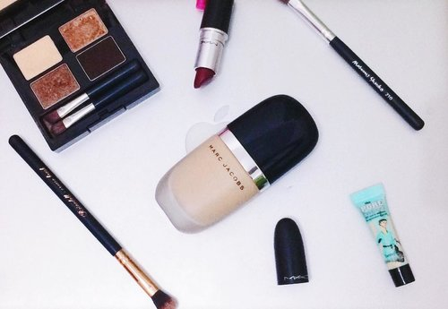 Highly recommeded Foundation!❣ Genius Gel from Marc Jacobs Beauty💄💕💕💕 #clozetteid #makeuptutorial #makeup