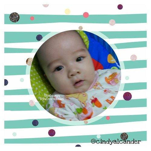 Hi... I wake up like this ;) . . . . . . . . . #instababy #baby #cutebaby #happybaby #sleepingbaby #happiness #indonesianbaby #pose #babypose #babyboy #아가 #아기포즈 #귀여운아기 #남자아기 #사랑아기 #RyuOzoraHalim #babyonlyxx #babyoftheday #lovelybaby #koreanbaby #cute #babydaysout #kids #justbaby  #babiesoftheday  #babies #babyquote #babyquotes #babyshower