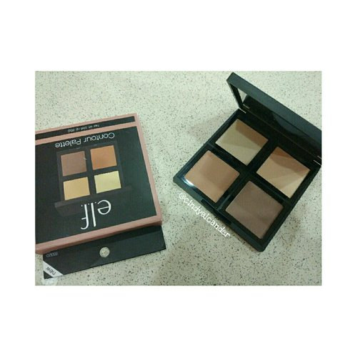 good price with good pigmentation #elfcontourpalette