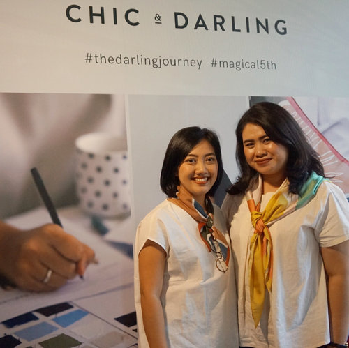 It's an honor to celebrate @chicanddarling #magical5th. Finally, I met @kekekania in person, one of the inspiring lady boss I admire. It's joyful to witness CnD's journey, from home & decor specialist into one-of-a-kind lifestyle brand ✨ . . . #thedarlingjourney #magical5th #chicanddarling #clozetteid #lifestyle #homedecor #homegoods
