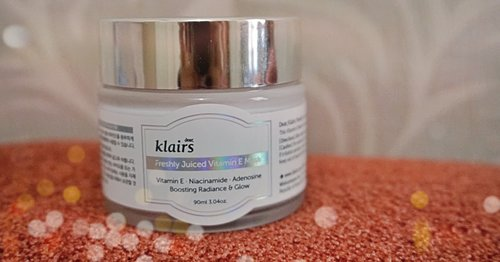 REVIEW: dear Klairs, Freshly Juiced Vitamin E Mask