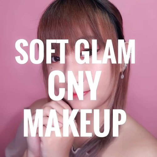 Kionghi Kionghi !This is soft glam makeup tutorial for tomorrow's Chinese New Year 🥰.Tips from me : jgn makeup terlalu menor / terlalu polos juga . Males juga kan kalo dibilang 'too extra' ato 'ih imlekan bukannya dandan dikit kek' 🤣🤣Deets :@benefitindonesia Porefessional@shuuemura Unlimited Foundation@colourpopcosmetics Pressed Powder Bronzer - Private Party@makeoverid Blush On@amaranthineindonesia Highlighter@charis_celeb @hicharis_official Sunkill Rx Powder@maybelline Fashion Brow@ucanbemakeup Fruit Pie Filling Palette@pac_mt Liquid Eyeliner@blinkcharm Lashes@amaranthineindonesia Lip Marker@yslbeauty Lip Vinyl#beautybyvilly.#cnymakeup #koreanmakeup #얼짱여자 #메이크업 #얼짱 #hicharis #charisceleb #beautybloggerindonesia #beautybloggerid #cchannelbeautyid #jakartabeautyblogger #indobeautygram #indobeautysquad #bloggermafia #bloggirlsid #marshique #ulzzangmakeup #kbeauty #ulzzanggirl #clozetteid #makeuptutorial #tutorialmakeup #makeupvideo #videomakeup #100daysofmakeupchallenge