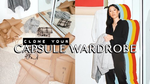 How to make patterns from your capsule wardrobe 📐 | WITHWENDY - YouTube