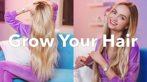Grow Long Hair | Your Scientific Hair Growth Guide - YouTube