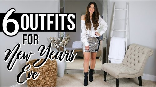 6 Outfit Ideas For NEW YEAR'S EVE | What To Wear - YouTube