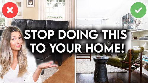 10 REASONS YOUR HOME LOOKS CHEAP | INTERIOR DESIGN MISTAKES - YouTube