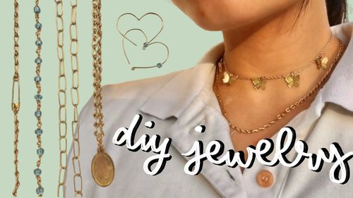 DIY wire jewelry ♡ how to get started, ideas for beginners, etc. - YouTube