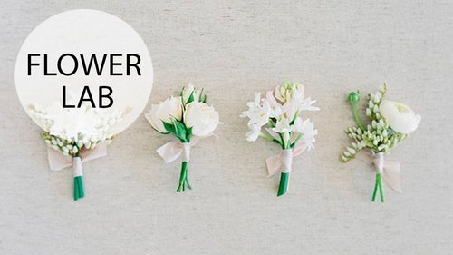 Classic White Boutonniere | DIY Wedding Accessories - YouTube