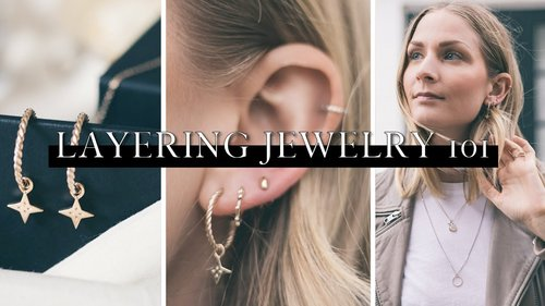 Styling & layering jewelry 101 | Ethical jewellery - YouTube