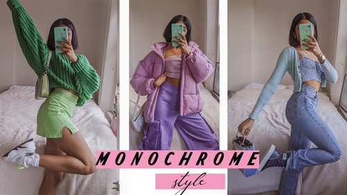 20 monochromatic outfit ideas 🌈 - YouTube