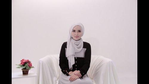 "Hijab Tutorial 64 ""Plisket Shawl"" by Zahratul Jannah - YouTube"