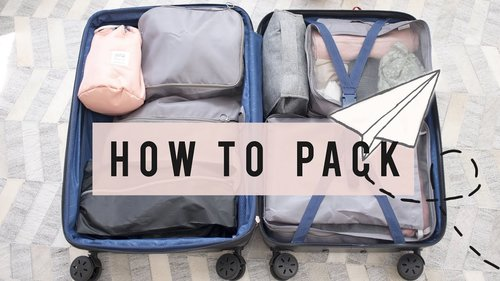 Travel Tips on How To Pack Light  | ANN LE ✈ - YouTube