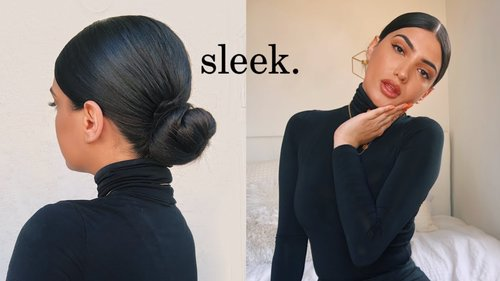 QUICK AND EASY LOW BUN - YouTube
