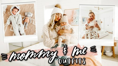 Matching Outfits With my Baby For a Week! | Aspyn Ovard - YouTube