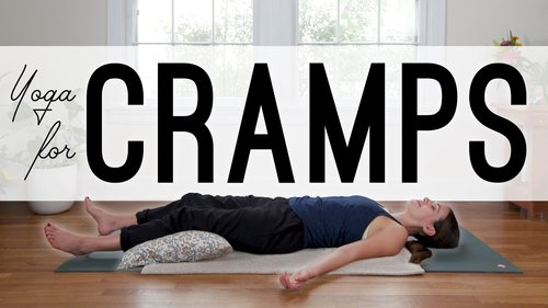 Yoga for Cramps and PMS  |  Yoga With Adriene - YouTube