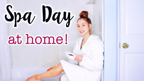 DIY Spa Day! Relaxing Pamper Routine at Home - YouTube
