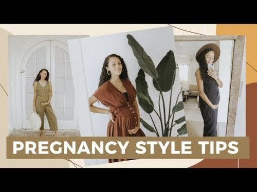 Pregnancy Style Tips - Alyssa Detwiler - YouTube