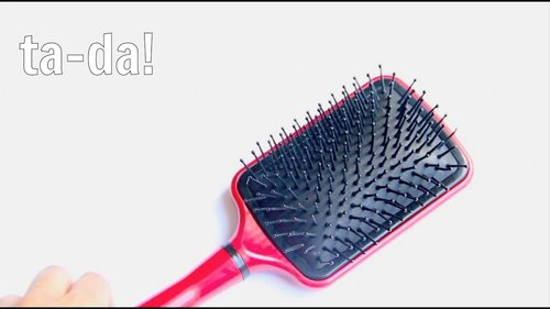 How to Clean a Hair Brush - YouTube