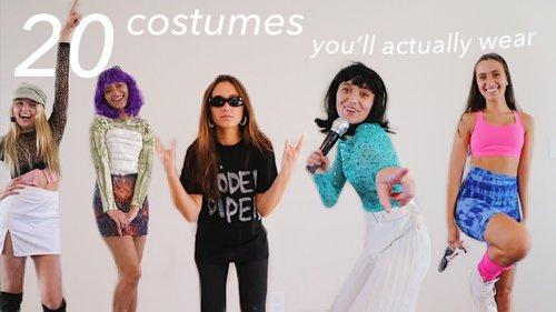 20 last-minute halloween costumes ideas - YouTube