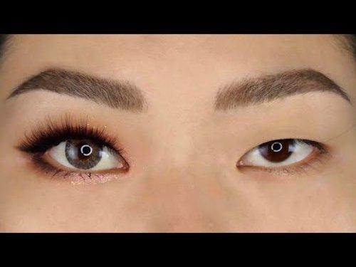 Hack Mắt 1 Mí - Mono Lid Eyes Makeup Tutorial [ ENGsub ] - YouTube