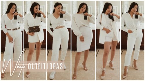 All White Outfit Ideas for Spring - YouTube