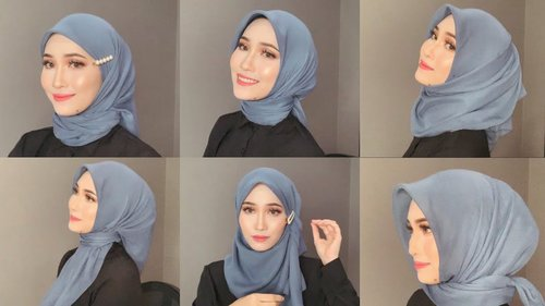 "<div class=""photoCaption"">6 Styles of Bawal Hijab Tutorial [ENG SUB] 