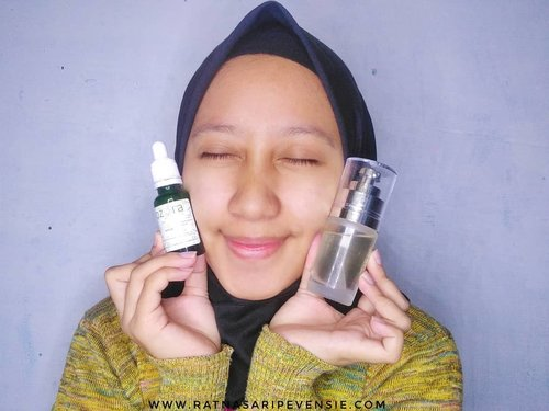 Holla! Jadi selama kurang lebih 4 minggu kemarin aku rutin pake 2 produk dari @ozoraskincare yaitu Ozora Brightening Essence dan Ozora Vitamin C SerumBtw, aku udah up review lengkapnya di blog aku loh!www.ratnasaripevensie.comYuk mampir!😁 ••••Thank u atas kesempatannya💕 @bandunghijabblogger x @ozoraskincare#BHBxOZoraskincare #Ozoraskincare#Bandunghijabblogger#ozoraskincare#ozoravitamincserum#ozoraessence#kulitcerahalami #clozetteid #bloggerbandung #vloggerbandung #beautyblogger #beautybloggerbandung