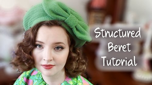 Structured Beret Tutorial - YouTube