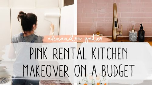 DIY SMALL RENTAL KITCHEN MAKEOVER | MY RENTAL RENO S1 E7 - YouTube