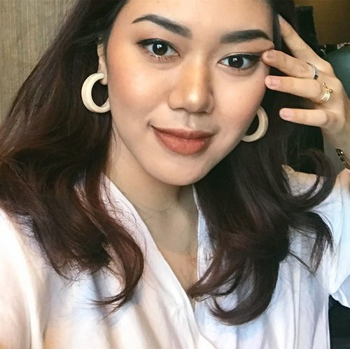When dark circles can be solved by concealers, those Gucci bags below my eyes are eternal.Forever living with them.Hehehe, good night.#clozetteid