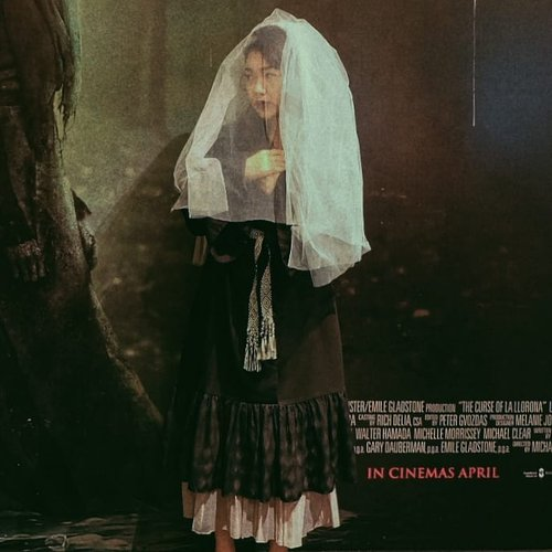 """<div class=""""photoCaption"""">Well, I got too excited to see the movie screening of La Llorona!The Curse of The Weeping Woman a.k.a the movie about this legendary ghost in Latin American folklore will be released on your favorite movie theaters next Wednesday, 17 April 2019. Make sure to watch together with a bunch of friends for a good scream! # <a class=""""pink-url"""" target=""""_blank"""" href=""""http://m.clozette.co.id/search/query?term=TheWeepingWomanID&siteseach=Submit"""">#TheWeepingWomanID</a>  <a class=""""pink-url"""" target=""""_blank"""" href=""""http://m.clozette.co.id/search/query?term=ClozetteID&siteseach=Submit"""">#ClozetteID</a></div>"""