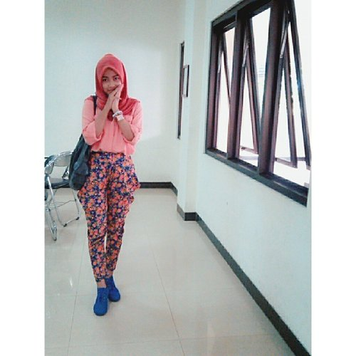 Tadi :) #ootdkampus #hotd @clozetteid #clozetteid