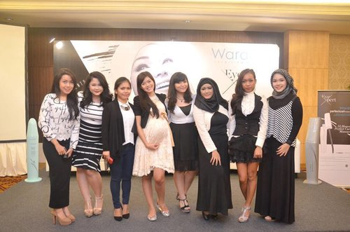 With Fellow Beauty Blogger at Wardah event ^^ #fashion #beauty #ootd