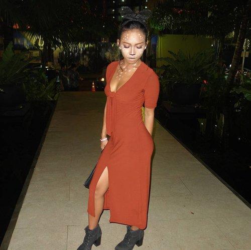 #throwback with my Bambi look. ❤❤ . . .  #sakuralisha #independentwoman #indonesianbeautyblogger #halloween #halloweenmakeup #halloweencostume #halloweenparty #party #bar #follows #followback #followforfollow #follow4follow #followme #likeforlike #like4follow #like4like #likeforfollow #jakarta #makeup #indonesia #fashion #beauty #clozetteid #bambi #indobeautygram