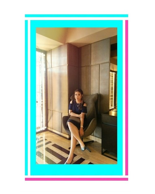 #latepost #bluedress #asiangirls #instafashion #instalike#ootdfashion #clozetteid