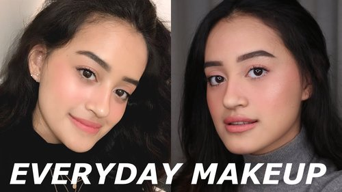 MY EVERYDAY FRESH & NATURAL MAKEUP | NO FOUNDATION | Nadya Aqilla | Indonesia - YouTube