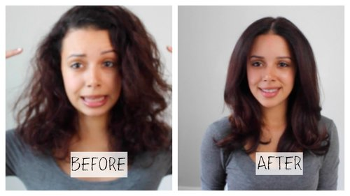 How to Blow-Dry Hair (Salon Quality) + DIY Treatment - YouTube