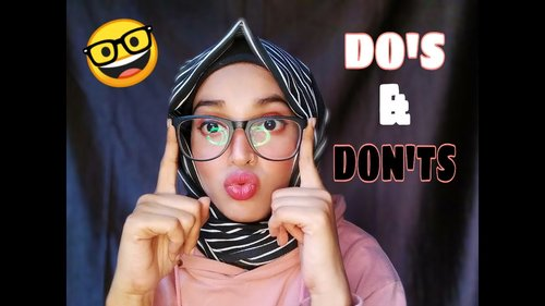 HIJAB TUTORIAL FOR GLASSES | hijab styles for glasses wearers 2020 - YouTube