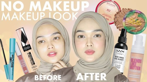 NO MAKEUP MAKEUP LOOK USING DRUGSTORE PRODUCTS | Zakirah Zainal - YouTube