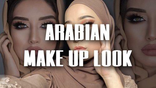 TUTORIAL MAKE UP ARABIAN LOOK || By Anisha Larasati - YouTube