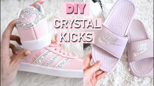 DIY CRYSTAL SHOES // HOW TO MAKE YOUR OWN - YouTube
