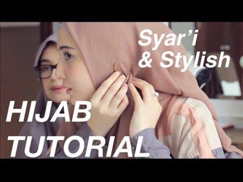 "<div class=""photoCaption"">Tutorial hijab menutup dada ala zaskia sungkar - YouTube</div>"