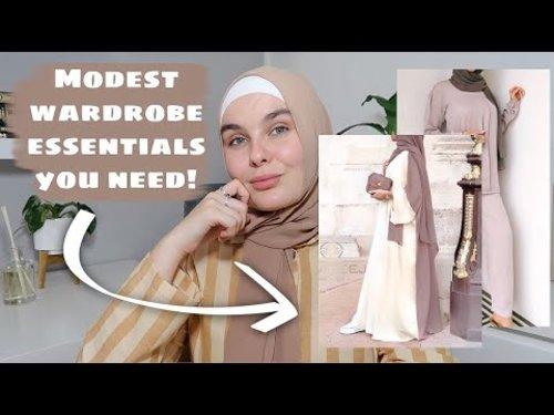 MODEST WARDROBE ESSENTIALS EVERYONE NEEDS! - YouTube