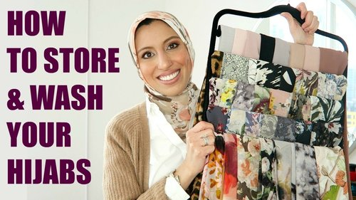 How To Store & Take Care of Your Hijabs - YouTube